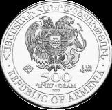 Arche Noah 1 oz Silber