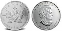 Maple Leaf 1 oz Silber