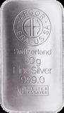 50 Gramm Silber