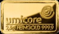 2,5 Gramm Gold