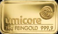 10 Gramm Gold