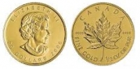 Maple Leaf 1/2 oz Gold