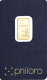 2,5 Gramm Gold philoro